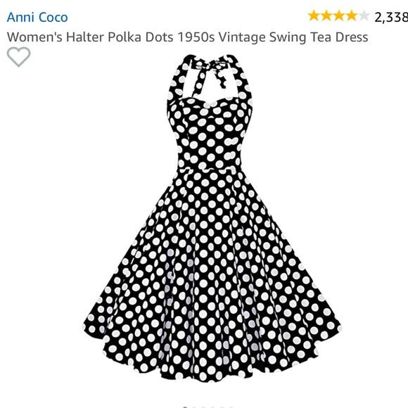 38427fe615d8 Anni Coco Dresses   Halter Swing Dress   Poshmark